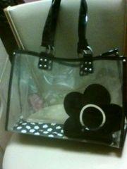 マリークヮントマリクヮビニールバッグ大きめ鞄
