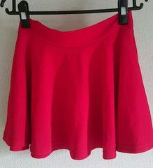 新品赤スカート☆