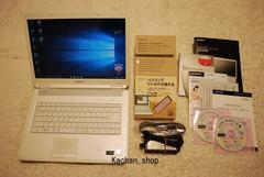 白く可愛VAIO Core2Duo2.53G/320G/ブルーレイ/Win10/地デジ_136
