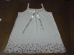 キャミソール/Tシャツ/白/130/まとめ買い歓迎