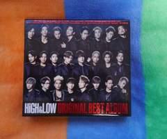HiGH&LOW ORIGINAL BEST ALBUM★CD2Blu-ray★送料無料