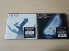 CHAGE&ASKAチャゲ&アスカCD2枚セット★「TREE」「GUYS」初回盤