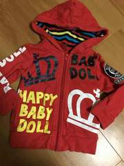 BABY  DOOL ジャケットパーカー 80