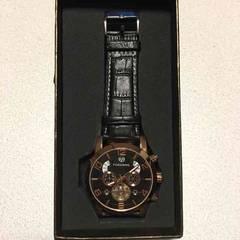 激安!FORSININGメンズ腕時計 高級感 新品!