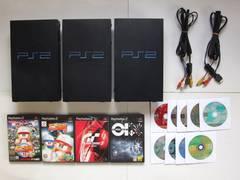 SONY Playstation2本体・他 部品取り ジャンク品 3台セット!!