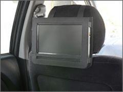 地デジ9型液晶車載対応DVD