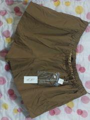新品キュロットスカート(7L)キャメル