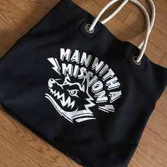 マンウィズ【MAN WITH A MISSION】トートバッグ
