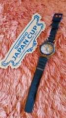 レア シマノジャパンカップステッカー 腕時計