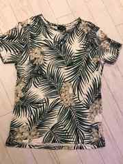 ZARAザラ Tシャツ デザイン メンズ L 42 未使用 夏