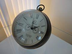レア品 オメガ Omega アンティーク置き時計 スケルトン