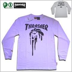 即決新品NESTAxTHRASHER 長袖Tシャツ XL◆白ネスタスラッシャーレゲエロンT2014