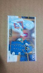 銀河鉄道999記念切手クレアと車掌さん80円×2枚送料62可
