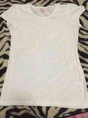 *シンプル*パフ袖白Tシャツ*160