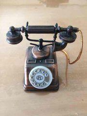 ブリキの電話機 鉛筆削り アンティーク 置物 切手払い可能