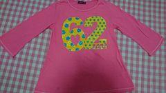 RONI ロニィ 七分袖Tシャツ M130 ピンク