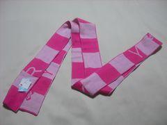 wn106 ROXY ロキシー ニットマフラー スカーフ ピンク
