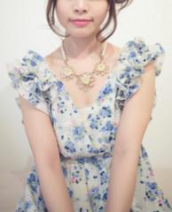 minplumeミンプリュム花柄フリルワンピドレス♪リボン衣装にも