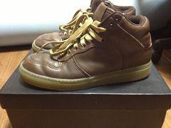 エーライフ ALIFE EVERYBODY HIGH TOXIC FULL GRAIN LEATHER 靴