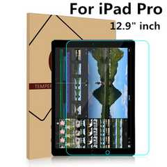 ipad Pro ガラス保護フィルム12.9inch 0.4mm 耐衝撃 強化ガラス