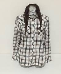 チェックシャツ☆M