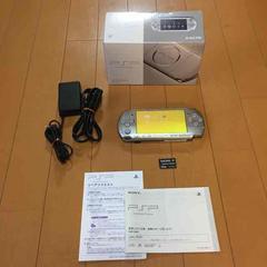 【送料無料】PSP 本体 3000 シルバー メモステ付