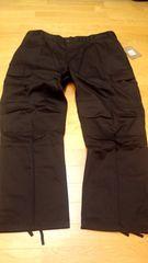 ROTHCOロスコ シンプルカーゴパンツ 濃い黒 サイズ2XL XXL W42〜W44