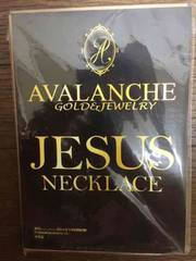 新品未開封AVALANCHE GOLD&JEWELRY JESUS NECKLACE
