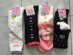 新品靴下福袋ハイソックス★15〜20cm★4点セット