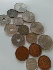 昔のお金、記念、色々硬貨まとめ売り 古銭