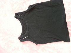 黒  タンクトップ  90cm