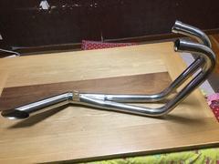 GS400サイクロンマフラー
