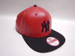 新品■ニューエラ NEW ERA NYヤンキース キャップ 赤■