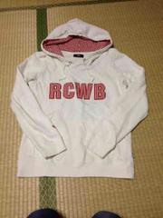 RCWB ロデオ 長袖パーカー M