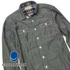 GLOBAL WORK(グローバルワーク) ロングスリーブシャツ N77