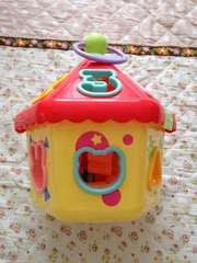 ベビートイ 形合わせパズル ハウス型 知育玩具