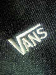 VANS ヴァンズ ジャージ ジャンパー ジャケット 上着 ブラック Lサイズ