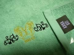 アナスイ今治フェイスタオルバタフライ刺繍