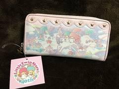 新品40th記念キキララ長財布ウォレット4100円サンリオ正規