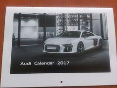 新品★Audi アウディ カレンダー2017