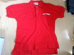 ミキハウス ジュニアS ポロシャツ 新品未使用 赤色