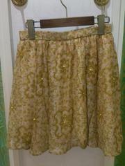 新品タグ付ラグナムーン8925円LagunaMoonモザイクフラワースカート