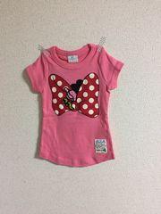 新品 ミニーちゃんTシャツ 100 ピンク