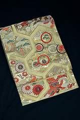 千鳥260*古典柄 袋帯