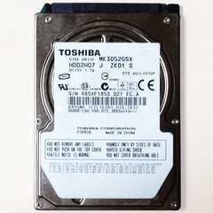 中古良品 東芝 2.5インチ HDD SATA 300GB ノートPC用 送料216円