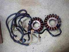 GS400GSX国産電装ダイナモ2個当時純正