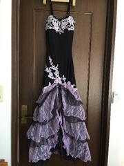 お姫さま調ロングドレス