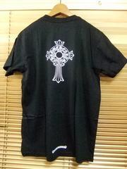 新品CHROME HEARTSクロムハーツ非売品/ロゴTシャツL黒