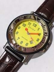 腕時計 ピエールカルダン 紳士用 エスパースポーツ 黄色