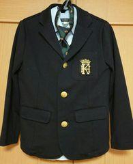 ハッシュアッシュ☆男の子セレモニースーツ5点セット☆size130